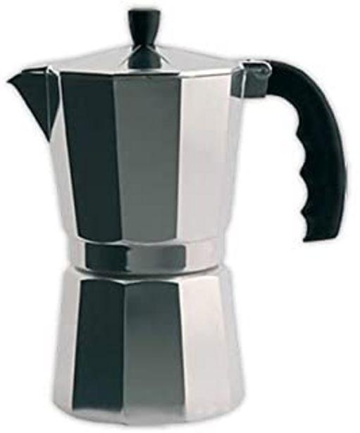 Oferta de Cafetera italiana ORBEGOZO KF300 | ORBEGOZO 3 tazas Vitro Gas Electrico por 5,9€