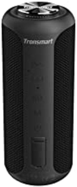 Oferta de Tronsmart T6 Plus Edición Mejorada Altavoz Bluetooth 40W, Altavoz Portatil Sonido Estéreo 360°TWS, Efecto de Triple Bajo Potente, Waterproof IPX6 con Powerbank, 15 Hora de Reproducción, y Manos Libres por 59,49€