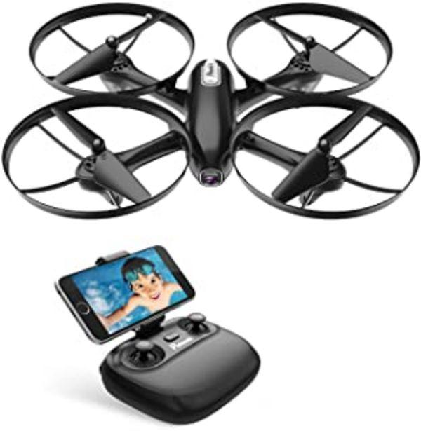Oferta de Potensic Drone Cámara 720P HD FPV RC Quadcopter WiFi Profesional con Cámara Modo sin Cabeza Hold Altitude con Batería Extraíble por 59,49€