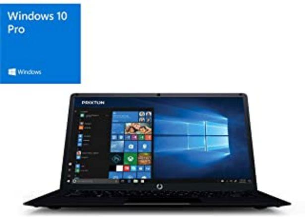 "Oferta de PRIXTON Netbook Pro - Ordenador portatil / Ordenadores portatiles Pantalla 14,1"", Windows 10 Pro, Intel Apollo Lake N3350,... por 209,95鈧�"