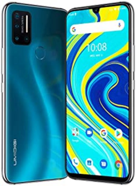 "Oferta de UMIDIGI A7 Pro Smartphone 4GB RAM + 128GB ROM Moviles, 6.3""FHD+ Pantalla Completa, Procesador Octa-Core Movil Libre con ba... por 118€"