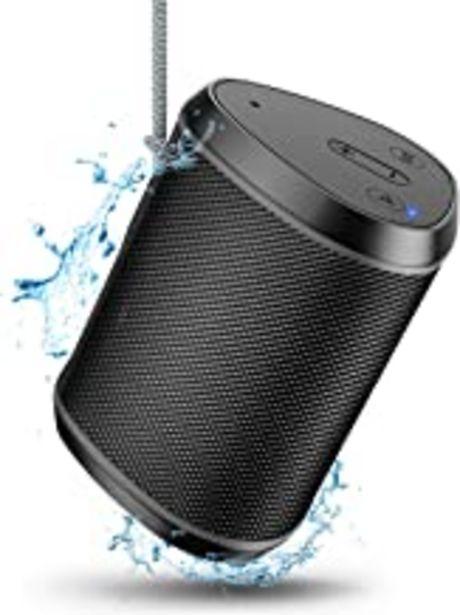 Oferta de Cocoda Altavoces Bluetooth Portatiles, Mini Altavoz Inalambricos con Sonido Estéreo, Graves Enriquecidos, 18m Bluetooth Distancia, Micrófono Incorporado, Tarjeta TF/Aux Compatible, IPX6 para Exterior por 15,29€