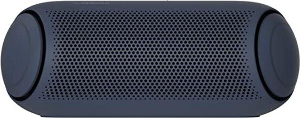 Oferta de LG XBOOM Go PL5 - Altavoz Bluetooth de 20W de Potencia con Sonido Meridian, autonomía 18 Horas, Bluetooth 5.0, protección IPX5, iluminación LED, USB-C, comandos de Voz Google y Siri, Dual Action Bass por 95,2€