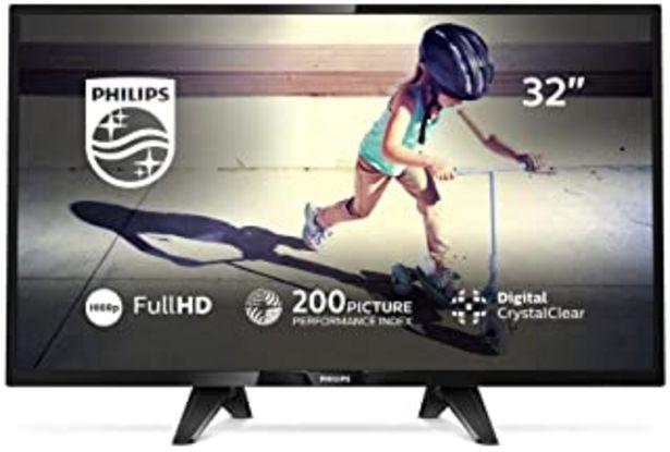 "Oferta de Philips 4000 series - Televisor (81,3 cm (32""), 1920 x 1080 Pixeles, Full HD, LED, DVB-C,DVB-S,DVB-S2,DVB-T,DVB-T HD,DVB-T... por 199€"