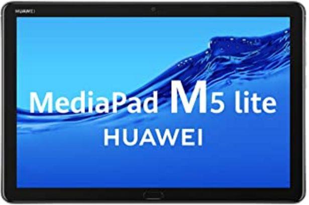 "Oferta de Huawei MediaPad M5 Lite 10 - Tablet de 10.1"" Full HD (Wifi, RAM de 3 GB, ROM de 32 GB, Android 8.0, EMUI 8.0, Procesador Octacore 2.4 GHz) Color Gris por 199€"