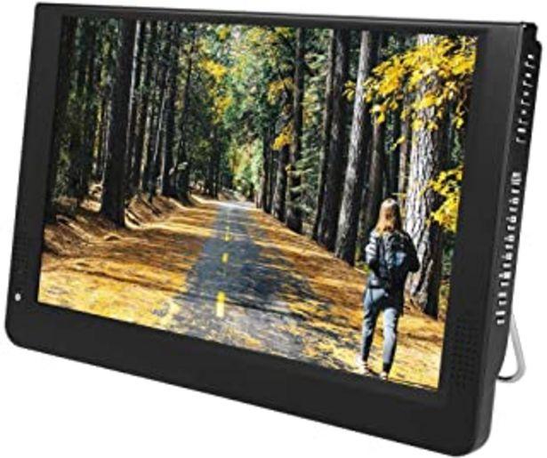 Oferta de LEADSTAR 1080p DVB-T/T2 12 PulgadasTV LED Full HD TV Digital Portátil-TV Analógica,ATV,Pantalla Color TFT-LED 1500 mah Bat... por 126,68€