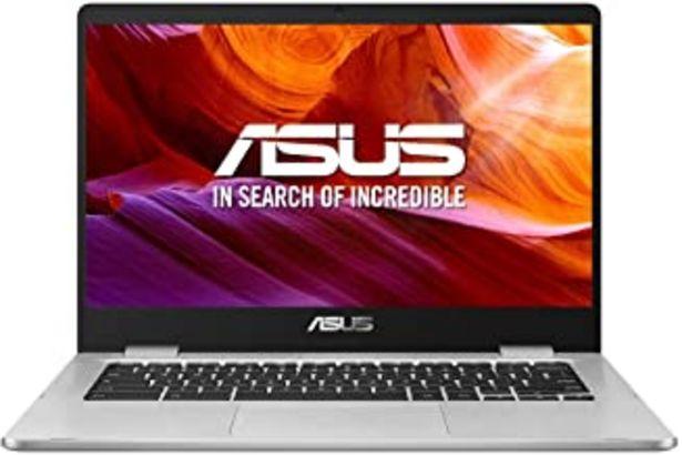 "Oferta de ASUS Chromebook Z1400CN-BV0306 - Ordenador portátil de 14"" HD (Intel Celeron N3350, 4GB RAM, 32GB EMMC, Intel HD Graphics 500, Chrome OS) Plata - Teclado QWERTY Español por 259,99€"
