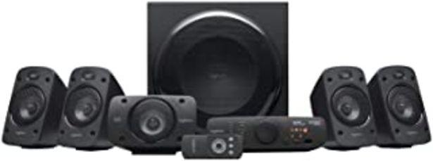Oferta de Logitech Z906 5.1 Sistema de Altavoces Sonido Envolvente THX, Certificado Dolby&DTS, 1000 W de Pico, Multi-Dispositivos, E... por 280,89€