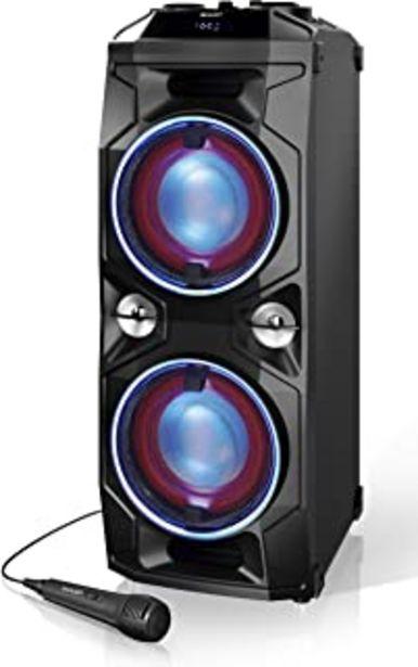 Oferta de SHARP PS-940 Altavoces Bluetooth Karaoke Party con Mezclador Dj y Batería Recargable Incorporada, Tiempo de Reproducción 1... por 150,99€