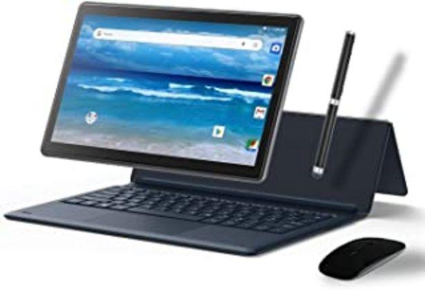 Oferta de MEBERRY Tablet 11.6 Pulgadas, Android Sistema 4GB RAM+ 64GB ROM -Certificación Google gsm-Dual SIM | 8000mAh | WI-FI | Bluetooth | GPS | Proyección(5.0+8.0 MP Cámara- Cuerpo De Metal Gris por 199,99€