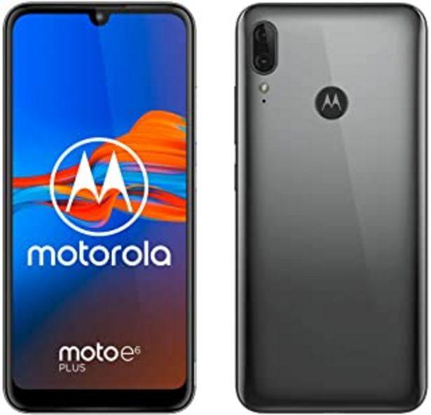 """Oferta de Motorola Moto E6 Plus (pantalla 6,1"""" max vision, doble cámara de 13 MP, 32GB/2 GB, Android 9.0, Dual SIM) Gris Gunmetal + ... por 89,9€"""