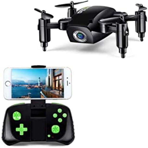 Oferta de LBLA 1 RC Mini Drone Plegable Regalo para Niños/Adultos, Giroscopio de 6 Ejes con Control Remoto de Altitud Cuadricóptero ... por 34,99€