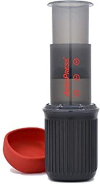Oferta de AeroPress - 10R11 - Go - Cafetera de plástico, ideal para viajar, color gris por 38,9€