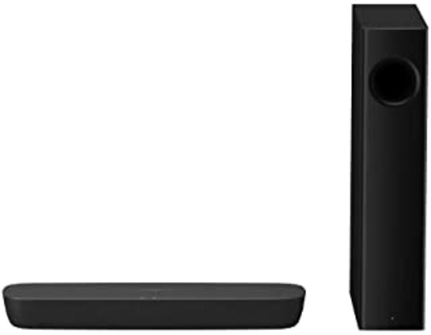 Oferta de Panasonic SC-HTB250 Barra de Sonido (Inalámbrico y alámbrico Con Subwoofer Hogar, 2.1 Canales, Altavoz Soundbar, 120 W, DT... por 153,03€