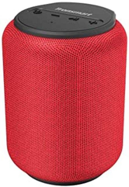 Oferta de Tronsmart T6 Mini Altavoces Bluetooth 15W, 24 Horas de Reproducción, TWS Sonido Stereo 360°, IPX6 Waterproof, Altavoz port... por 27,19€