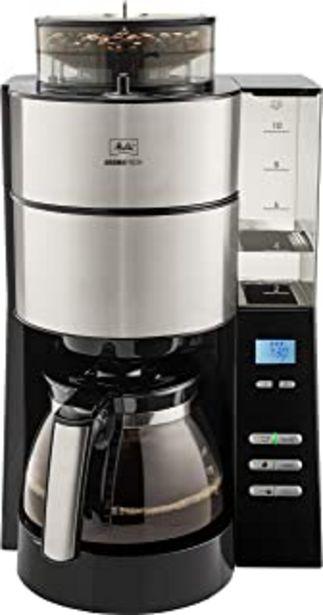 Oferta de Melitta 1021-21 Cafetera de Goteo, 1000 W, 1.25 litros, Acero Inoxidable por 141,23€