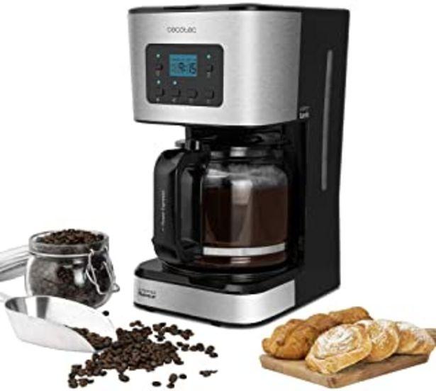 Oferta de Cecotec Cafetera de Goteo Coffee 66 Smart. Programable con Tecnología ExtemAroma, Función AutoClean por 38,7€