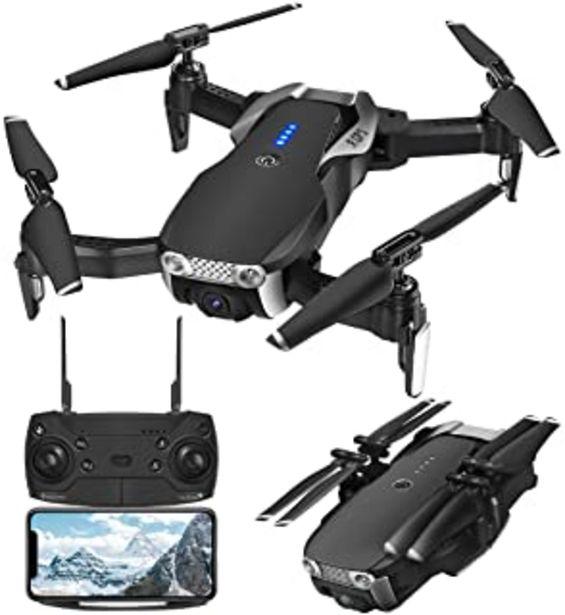 Oferta de EACHINE E511S Drone con Camara HD Drone con Camara Profesional Estabilizador GPS 1080P Drone para Niños con Camara Drone x Pro RC Drone Plegable Drone App WiFi para iOS/Android Drone Video por 89,99€