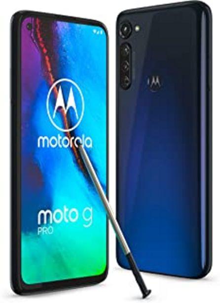 Oferta de Motorola Moto G Pro - Smartphone 128GB, 4GB RAM, Dual Sim, Mystic Indigo por 273€