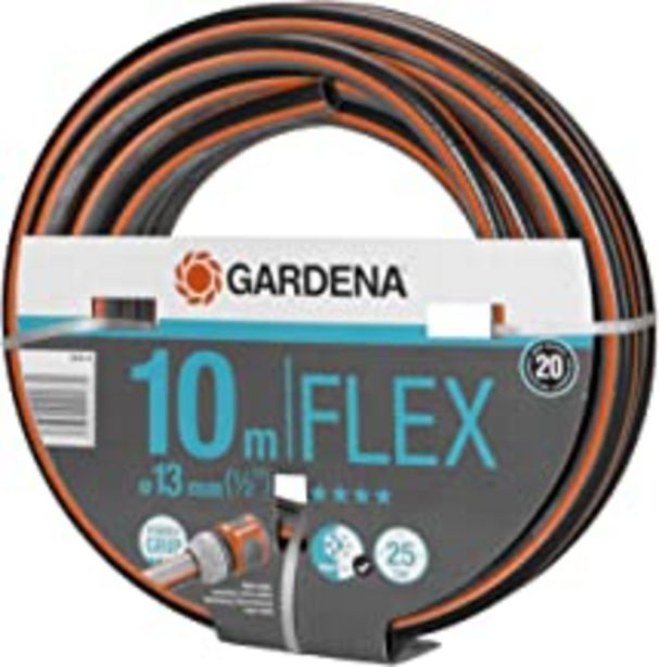 Oferta de Gardena 18030-20 - Manguera 13mm Rollo de 10 m 25 Bar por 18,18€