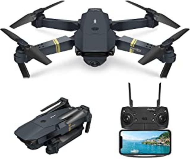 Oferta de EACHINE E58 Drone con Camara HD 2.0MP 720p Wide Angel Drone con Camara Profesional Drone Video Profesional Drone para Niño... por 46,02€