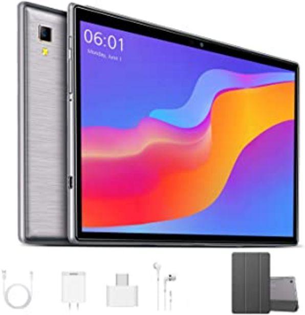 Oferta de Octa Core 2.3 GHz Ultrar-Rápido Tablet para Juegos 10 Pulgadas 4G LTE Android 9.0 Pie?2020 Certificación Google GMS? 4GB R... por 139,99€