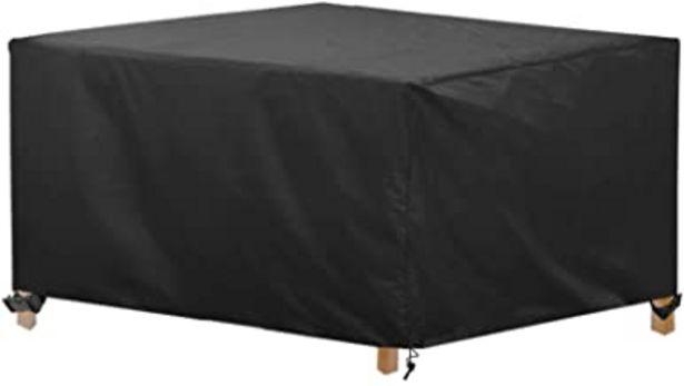 Oferta de Awnic Funda de Muebles de Jardín Funda para Mesa Silla Jardín ImpermeableTela Oxford Resistente al Desgarro 170X115X71cm por 21,99€