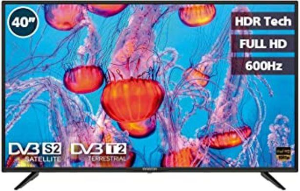 "Oferta de Television LED 40"" INFINITON INTV-40M503 Full HD (USB, HDMI, Modo Hotel, Reproductor/Grabador USB) por 179€"