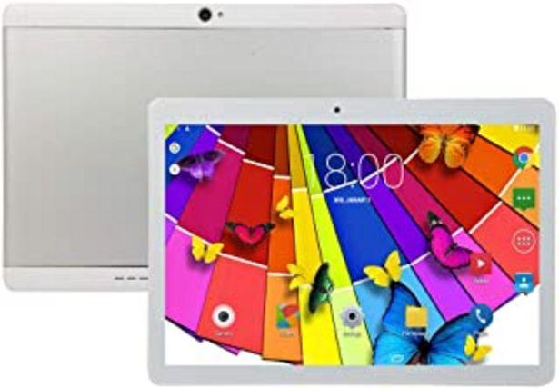 Oferta de Tablet PC Android de 10 pulgadas, 4 GB de RAM, 64 GB de ROM, procesador Octa Core, pantalla táctil HD 5G WiFi Tablet PC in... por 89,9€