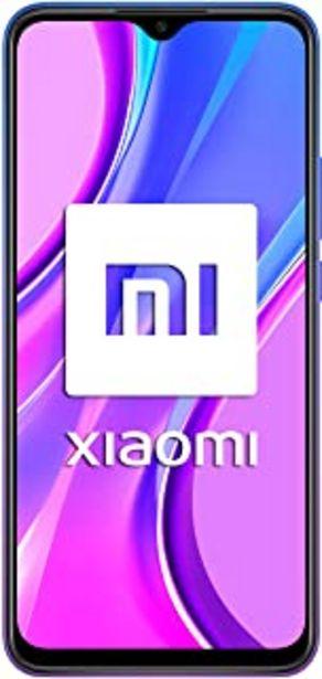"""Oferta de Xiaomi Redmi 9 - Smartphone con Pantalla FHD+ de 6.53"""" DotDisplay, 4 GB y 64 GB, C谩mara cu谩druple de 13 MP con IA, MediaTe... por 138,25鈧�"""