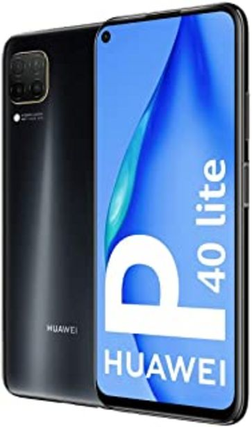 Oferta de Huawei P40 Lite - Smartphone 128GB, 6GB RAM, Dual Sim, Black por 196,95€