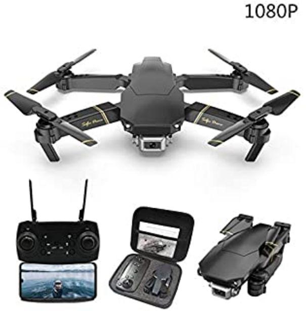 Oferta de ACHICOO GD89 - Dron teledirigido con cámara HD 4K opcional, con WiFi, altura para mantener el timón, plegable, cuadricóptero teledirigido, 1080P, regalo para niños por 42,99€