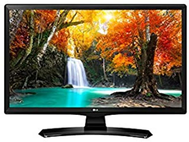 "Oferta de LG 28MT49S-PZ - Monitor TV de 27.5"" (71 cm, Smart TV LED HD, 1366 x 768 Pixels, Modo Cine, Modo Juego), Color Negro Brillante por 179€"