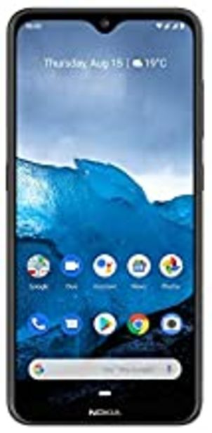 "Oferta de Nokia 6.2 Smartphone (6.3"" Full HD+ con Pure Display, 4GB + 64GB, Triple cámara Trasera 16Mpx + 5Mpsx + 8Mpx, Snapdragon 636, Android 9), Color Negro por 180€"