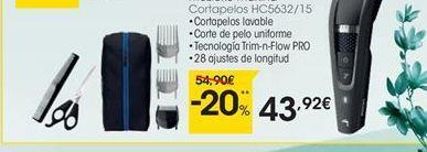 Oferta de Cortapelos Philips por 43,92€