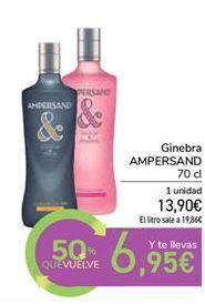 Oferta de Ginebra ampersand por 13,9€