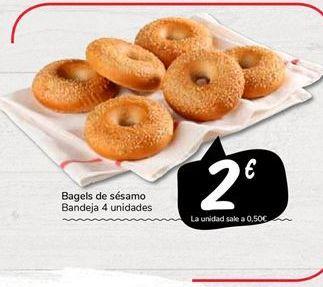 Oferta de Rosquillas de sésamo por 2€