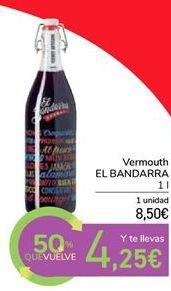 Oferta de Vermouth el bandarra por 8,5€