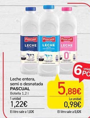 Oferta de Leche Pascual por 1,22€