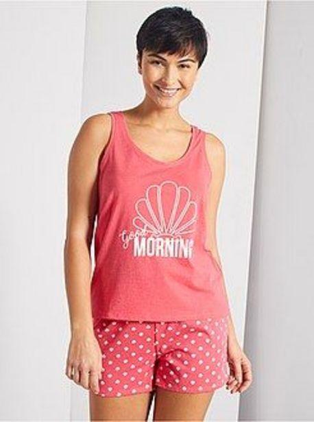 Oferta de Pijama corto 'Good Morning' por 3€