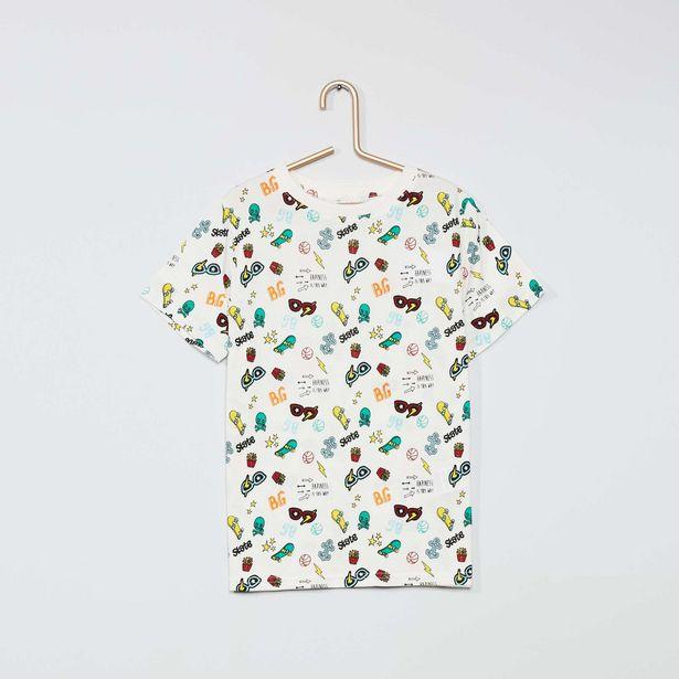 Oferta de Camiseta estampada eco-concepción por 2€