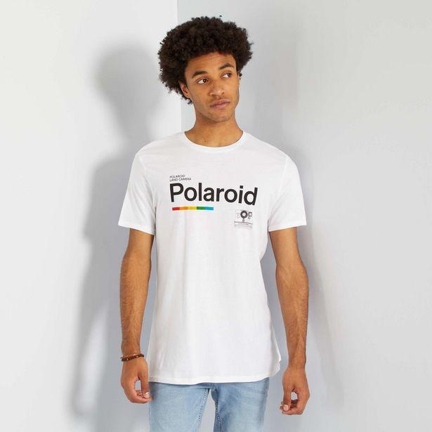 Oferta de Camiseta 'Polaroid' por 7€