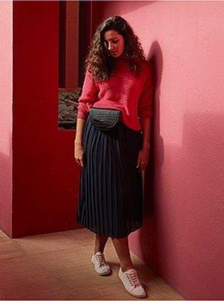 Oferta de Falda midi plisada por 11€
