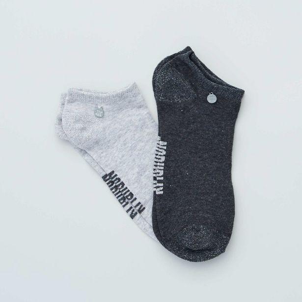 Oferta de Pack de 2 pares de calcetines tobilleros 'No Publik' por 3€