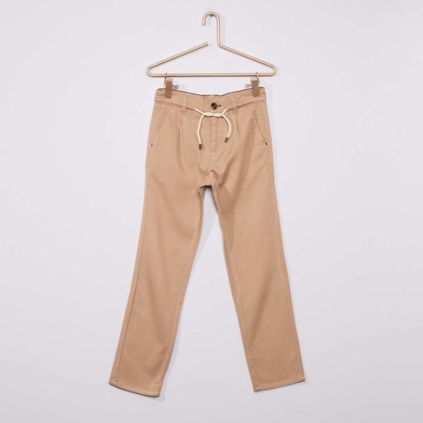 Oferta de Pantalón de sarga vaporoso por 6€