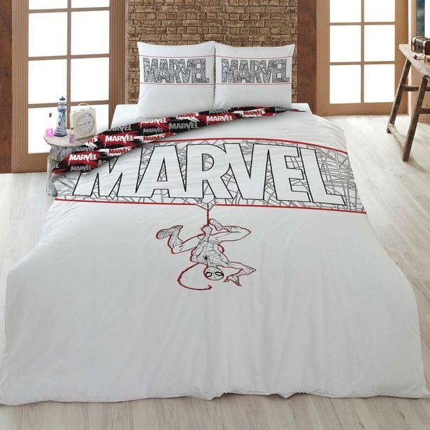 Oferta de Juego de cama individual 'Marvel' por 30€