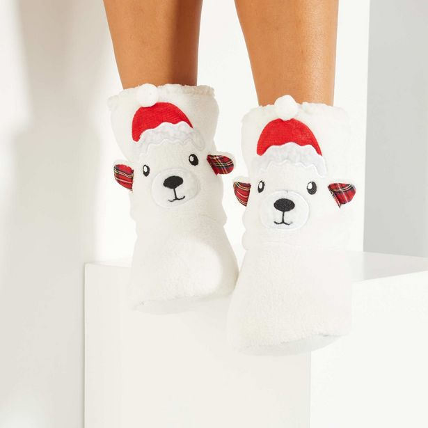 Oferta de Zapatillas de casa Navidad por 8€