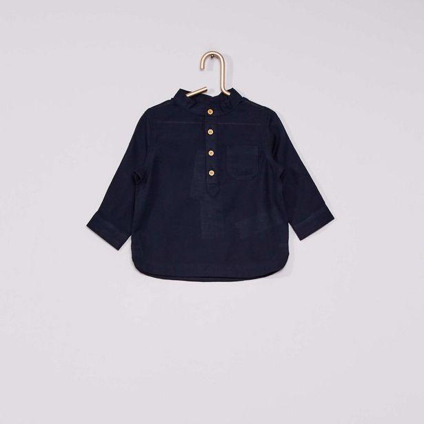 Oferta de Camisa con cuello panadero 'eco-concepción' por 5€