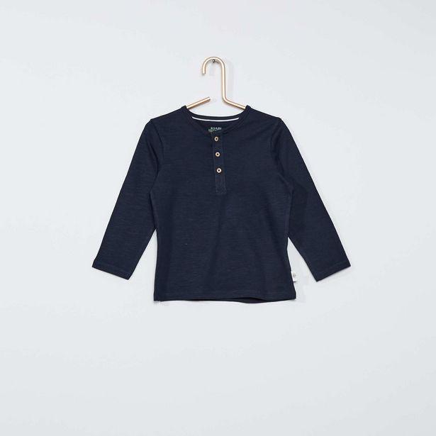 Oferta de Camiseta con cuello panadero eco-concepción por 3€