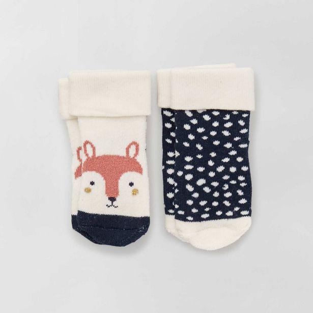 Oferta de Pack de 2 pares de calcetines antideslizantes por 4€